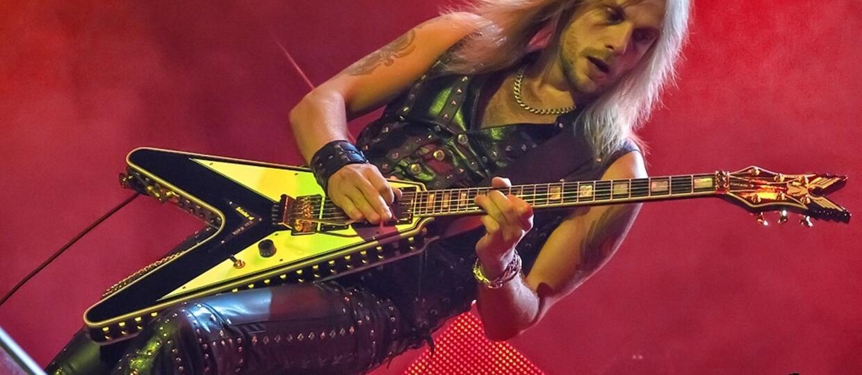 Richie Faulkner (Judas Priest): Mamy nadzieję, że wyskoczymy z fanami na piwo po koncercie w Katowicach [WYWIAD]