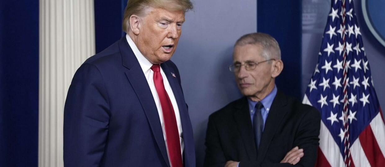 Donald Trump i dr Anthony Fuci
