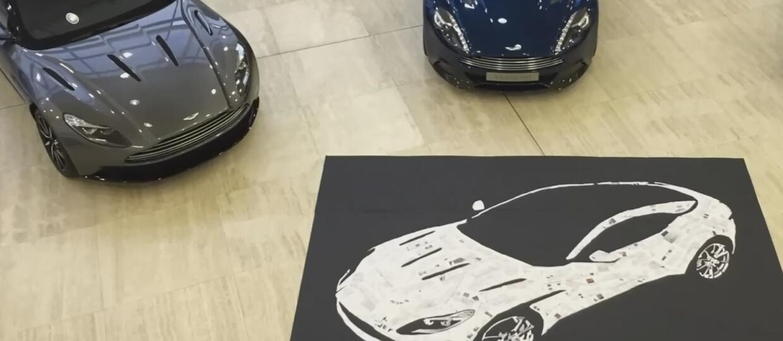 Aston Martin DB11 z instrukcji obsługi