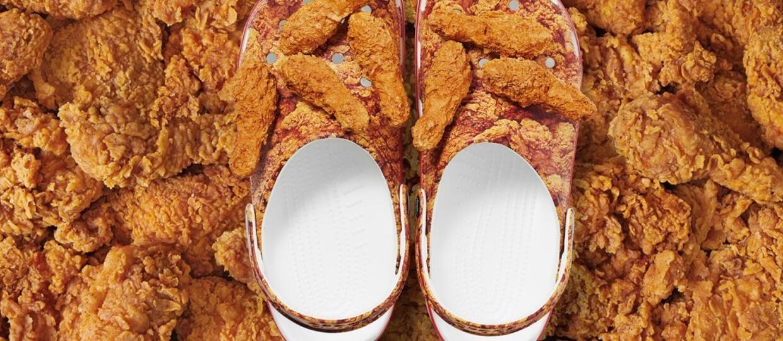 Crocsy przygotowały buty we współpracy z KFC. Pachną smażonym kurczakiem