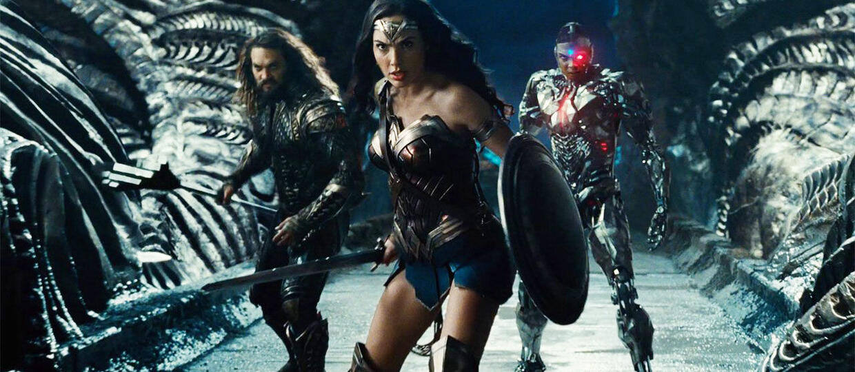 Aquaman, Wonder Woman i Cyborg