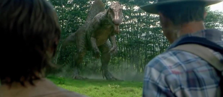 kadr z filmu Park Jurajski II
