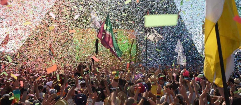 Wideo na otarcie łez fanów letnich festiwali muzycznych. Słynne Glastonbury w wersji LEGO [WIDEO]