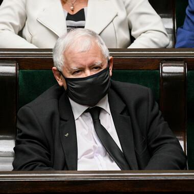 Jarosław Kaczyński na kwarantannie. Miał kontakt z zakażonym