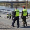 patrole policji i wojska