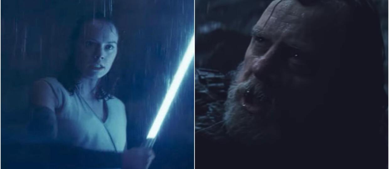 Rey i Luke Skywalker