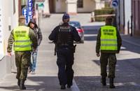patrol policji i WOT