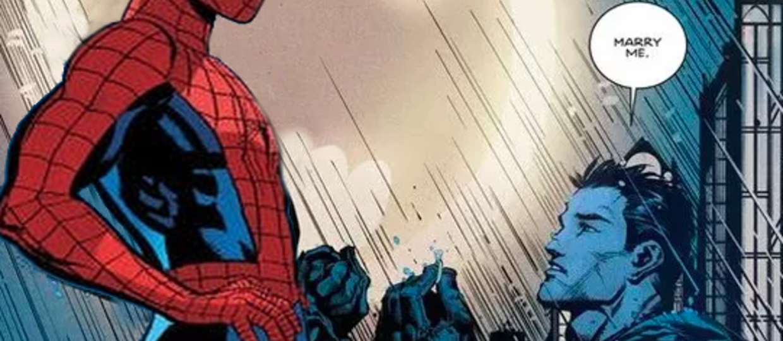 Spider-Man i Batman - oświadczyny