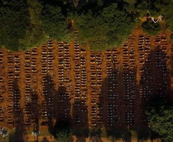 Masowe groby w Brazylii dla ofiar śmiertelnych koronawirusa. Zobacz przerażające zdjęcia