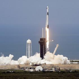 Start rakiety Falcon 9