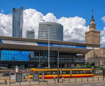 Motornicza pobita w Warszawie
