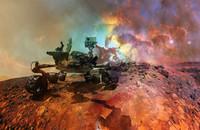 Na Marsie odkryto ludzkie kości