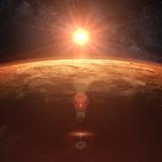NASA prezentuje, jak wyglądają zachody Słońca na innych planetach