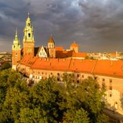 Niebezpieczne i gwałtowne zjawisko pogodowe nad Krakowem