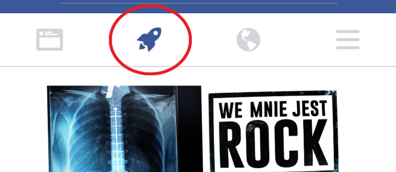 Nowa funkcja Facebooka – do czego służy rakieta?