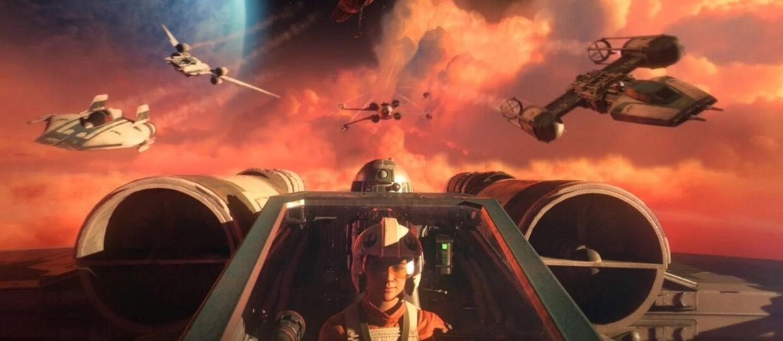 """Nowa gra ze świata Star Wars to symulator bitw myśliwców. Oto """"Squadrons"""" [WIDEO]"""