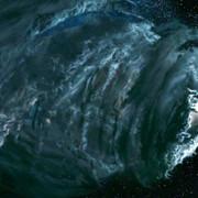 kadr z filmu Fantastyczna Czwórka: Narodziny Srebrnego Surfera
