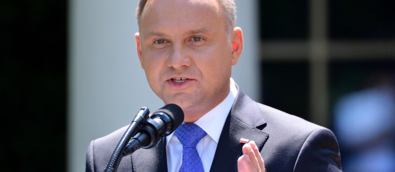 Prezydent Andrzej Duda podjął wyzwanie Zeusa