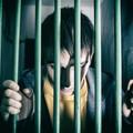 mężczyzna w celi