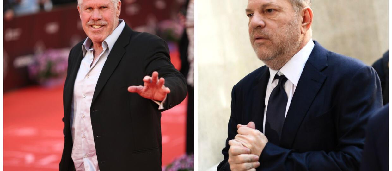 Ron Perlman nasikał sobie na dłoń przed podaniem ręki Harveyowi Weinsteinowi. Fani aktora są oburzeni