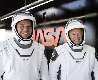 astronauci misji Demo-2 SpaceX