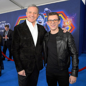Bob Iger i Tom Holland