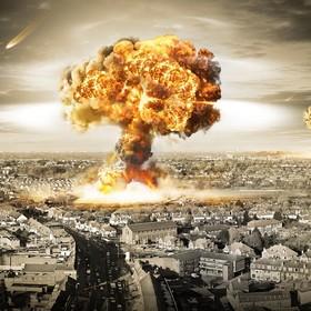 wybuch atomowy w mieście