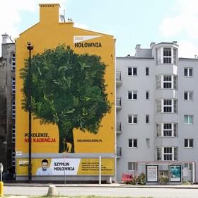 Ten mural ma oczyszczać powietrze. Jedna ściana ma wchłaniać zanieczyszczenia niczym 720 drzew