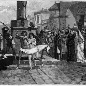 torturowanie kobiet - materiał poglądowy