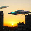 UFO nad Warszawą w dniu rocznicy powstania Warszawskiego