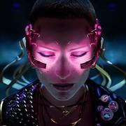 postać z Cyberpunk 2077