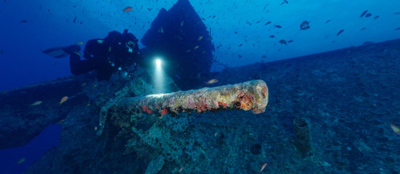 Wrak niemieckiego krążownika odnaleziony po 80 latach