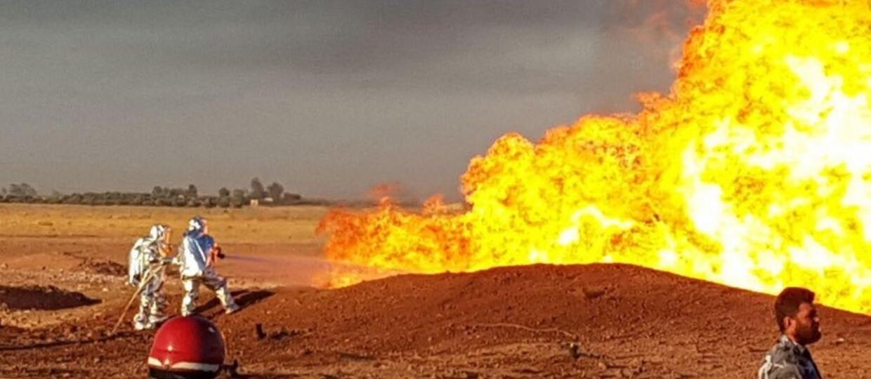 Wybuch gazu pozbawił Syrię prądu. Czy to wynik ataku terrorystycznego?
