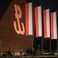 znak Polski Walczącej na Muzeum II Wojny Światowe