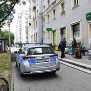 Policja pod Żabką