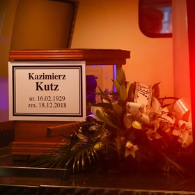 pogrzeb Kazimierza Kutza