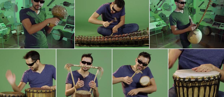 1 człowiek, 1 utwór, 90 instrumentów