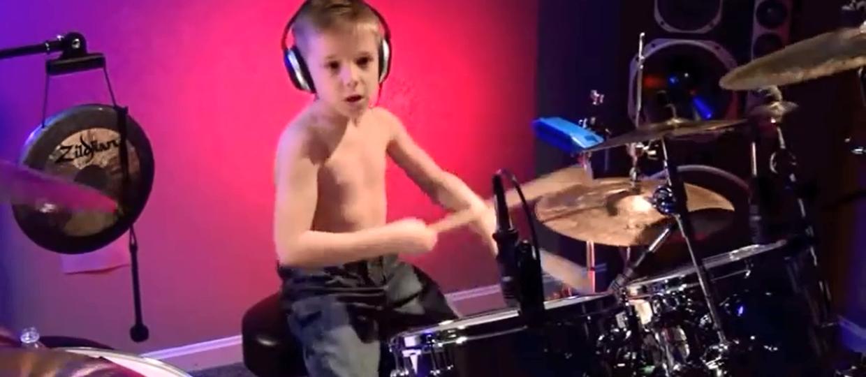6-letni Lars Ulrich?