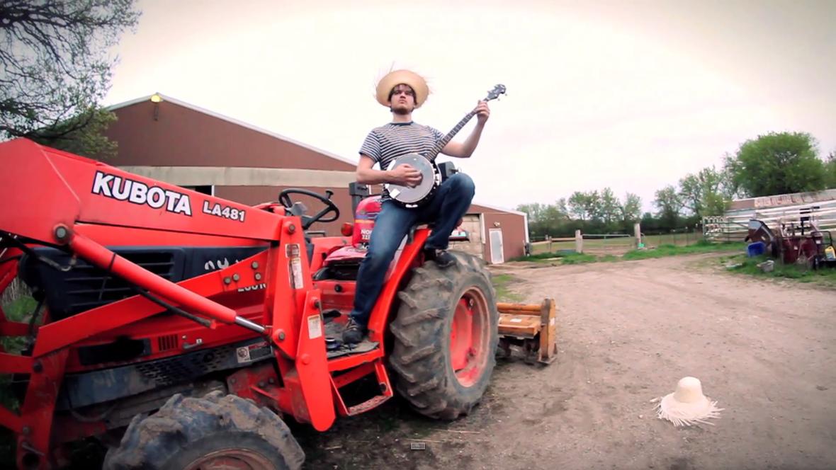 """""""Battery"""" Metalliki zagrane na banjo"""