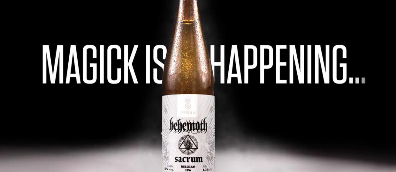 Behemoth wypuści własne piwo!