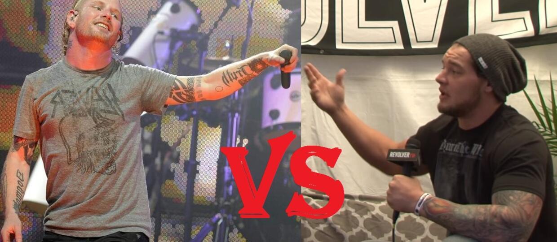 Corey Taylor zapłaci za spoliczkowanie wrestlera