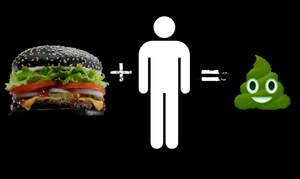 Czarny burger dla metalowców wychodzi na zielono