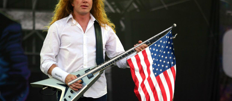 Dave Mustaine mówi jaki powinien być prezydent USA