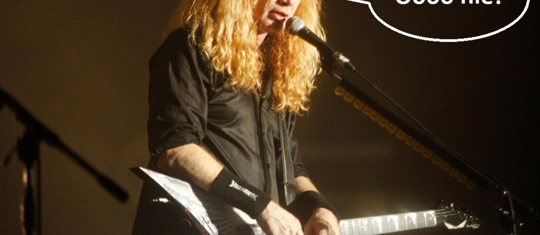 Dave Mustaine: Nie wróciłbym do Metalliki