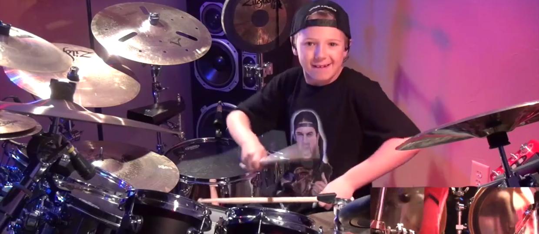 Dream Theater w wykonaniu 8-latka