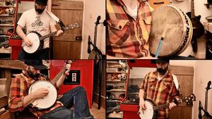 """""""Enter Sandman"""" na banjo"""