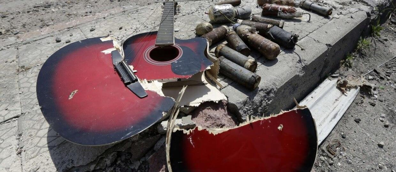 Granie na gitarze grozi śmiercią