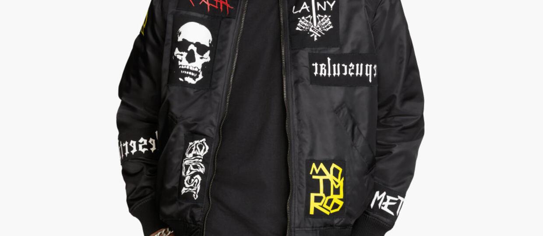 H&M promuje nieistniejące metalowe zespoły?