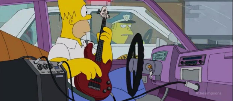 Homer Simpson gwiazdą rocka?