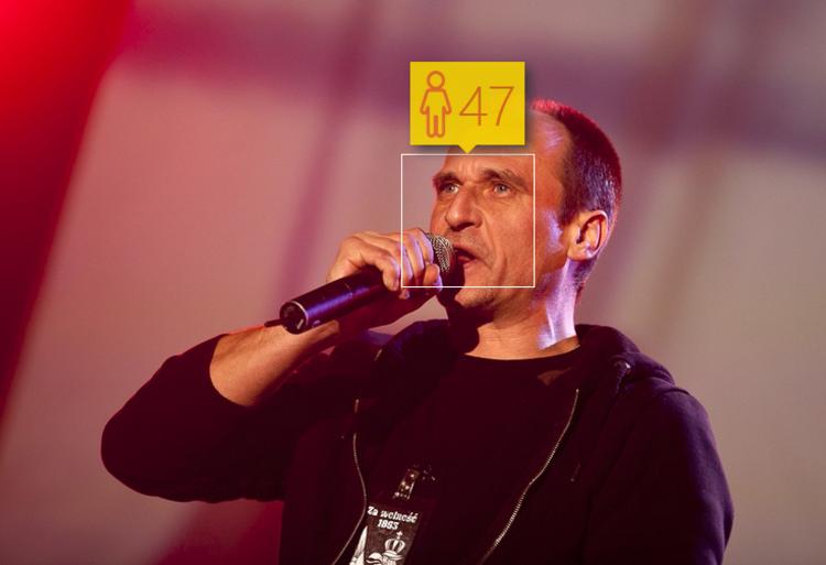 """Paweł Kukiz, wiek: 51 lat, według """"How Old Do I Look"""": 47 lat. Foto: KASIA ZAREMBA / East News"""